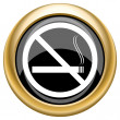 No smoking icon — Stockfoto