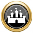 Castle icon — Stock Photo #34729675