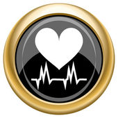 Heart icon — Foto Stock