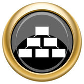Organizational chart icon — Stockfoto