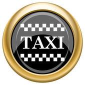 Taxi icon — Stock Photo