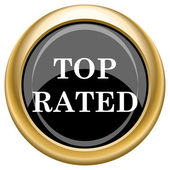 Top rated icon — Foto de Stock