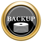 Back-up icon — Foto de Stock
