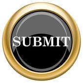 Submit icon — Foto de Stock