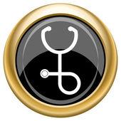 Icono de estetoscopio — Foto de Stock
