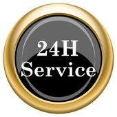 24H Service icon — Stock fotografie