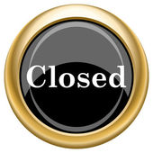 Closed icon — Foto de Stock