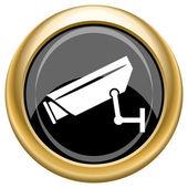 Surveillance camera icon — Stock Photo