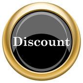 Discount icon — Stock Photo