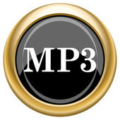 MP3 icon — Foto de Stock