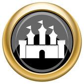 Castle icon — Stock Photo