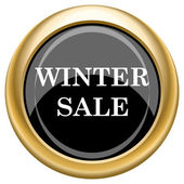 Winter sale icon — Foto de Stock