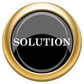 Solution icon — Foto de Stock