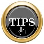 Tips icon — Stock Photo #34731853