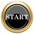 Start icon — Stock Photo #34730001