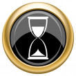 Stock Photo: Hourglass icon