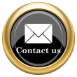 Contact us icon — Stock Photo #34730079