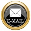 E-mail icon — Stock Photo #34730085