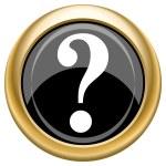 Question mark icon — Stock Photo #34730559