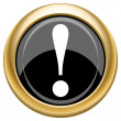 Stock Photo: Attention icon