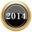 2014 icon — Stock Photo