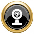 Webcam icon — Foto Stock