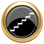 Stairs icon — Stock Photo #34731383