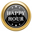 Happy hour icon — Stock Photo #34731827