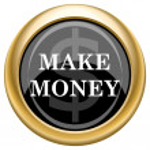Make money icon — Stock Photo #34731933