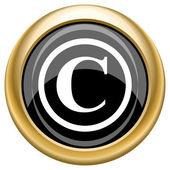 Copyright icon — Stock Photo