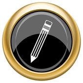 Pen icon — Foto de Stock