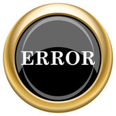Error icon — Foto Stock