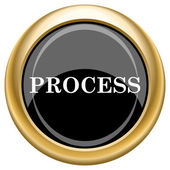 Process icon — Foto Stock