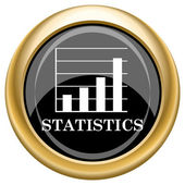 Statistics icon — Stock Photo