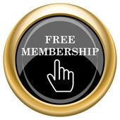 Free membership icon — Stock Photo