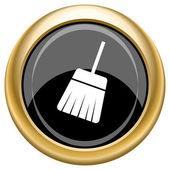 Sweep icon — Stock Photo