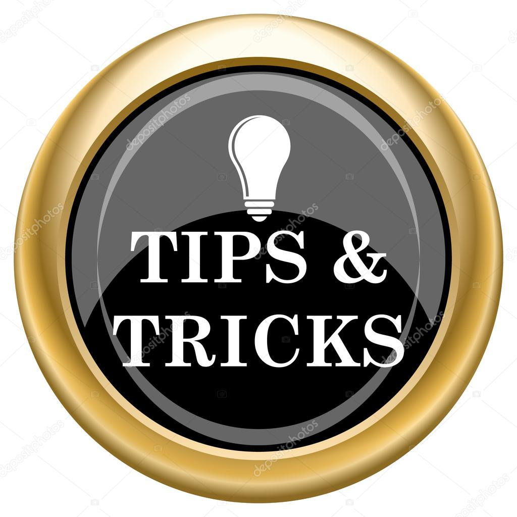 Tips and tricks icon — Stock Photo © valentint #34730031