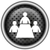 Incontro sull'icona camera — Foto Stock