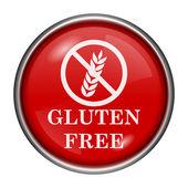 Gluten free icon — Stock Photo