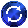 Reload two arrows icon — Foto de Stock