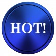 Hot icon — Stockfoto