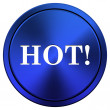 Hot icon — Foto Stock
