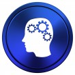 Brain icon — Foto Stock