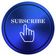 Subscribe icon — Stock fotografie