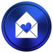 Stock Photo: Send love icon