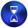 Hourglass icon — Stock Photo