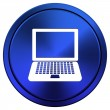 Laptop icon — Foto de Stock