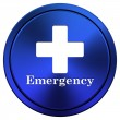 Stock Photo: Emergency icon