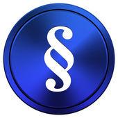 Paragraph icon — Stock Photo