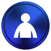 User profile icon — Foto Stock